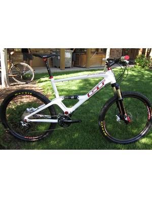 GT's new Zaskar 100, a 100mm travel cross-country race bike