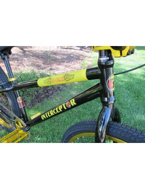 The Interceptor features an all chromoly frame with integrated headset