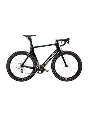 Cervelo has launched a new S5 aero road bike whose P4-inspired shape is said to save nearly 40 seconds over a 40km course at 40km/h relative to the already slippery S3.