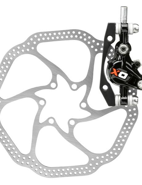 Avid X0 brake and 160mm rotor