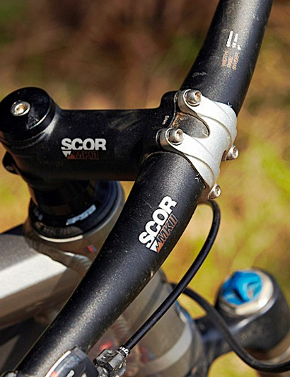 The Scor MkII finishing kit is good quality and finished the bike off nicely