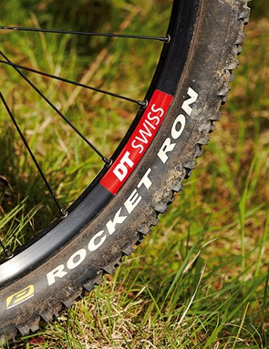Quality rolling stock comes courtesy of DT Swiss and Schwalbe