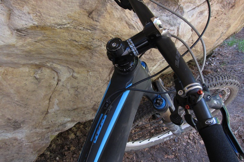 We appreciated the stout Easton Haven stem, but could have used wider bars