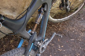 Fox's RP23 Kashima rear shock offers a very supple feel to the suspension
