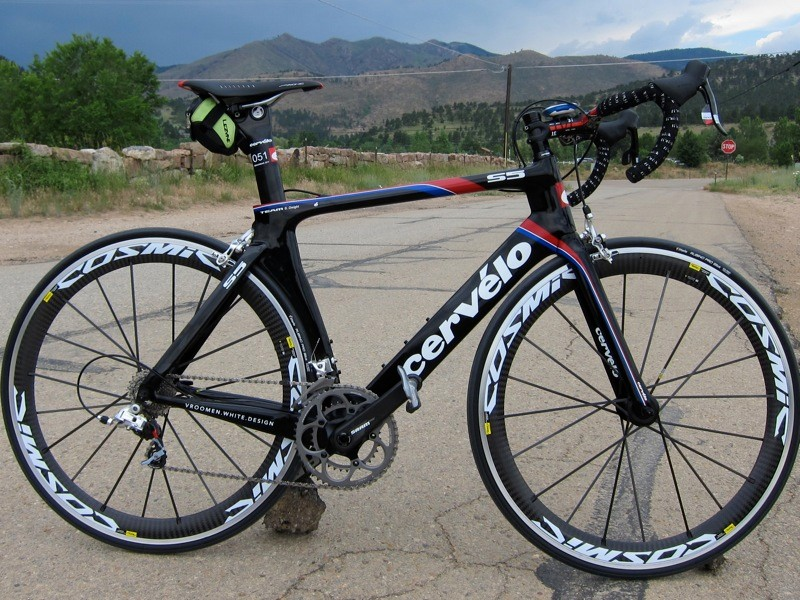 We had a chance to take the new Cervelo S5 out on the road