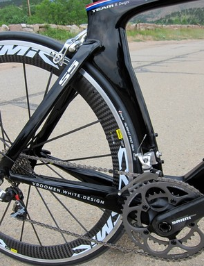 From this angle it's impossible to tell the S5 apart from a time trial bike