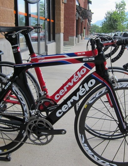 Aero evolution at Boulder Cycle Sport: S3 (background) and S5