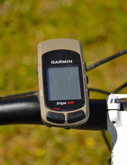 If anyone finds a Garmin Edge 205 on the Ashland Mountain trails, it's probably Riddle's as it ejected during a little crash the day after this photo was taken
