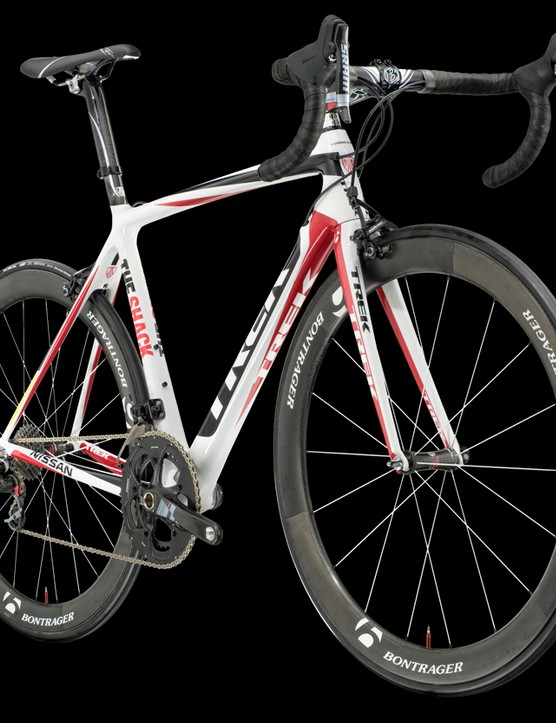 All the bikes will be available to the public from 1 July through Trek's Project One custom bike programme