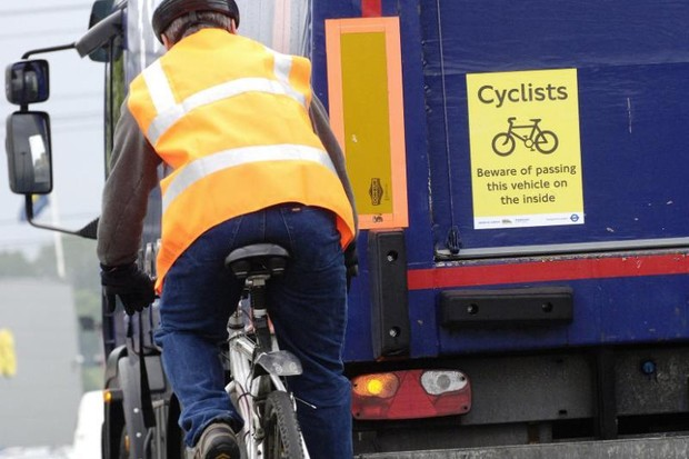 HGVs are one the biggest threats to cyclists, and a major deterrent to more doing so