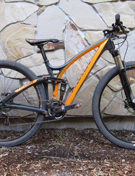 Niner is particularly proud of its small sized frame, which is said to fit riders down to about 5ft1in