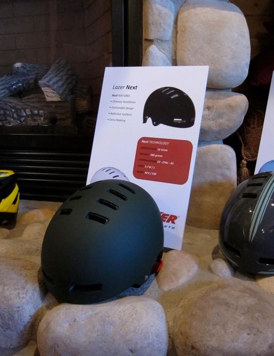 Lazer's new Next helmet