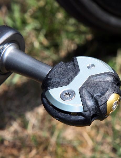 Andy Schleck (Leopard Trek) is using Speedplay's ultralight Nanogram pedal