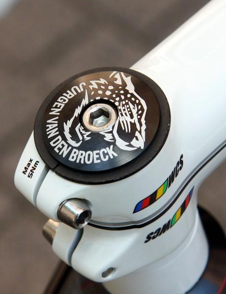 Jurgen Van Den Broeck is hoping to roar to victory in this year's Tour de France