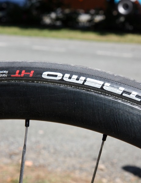 The new Bontrager Aeolus 3.0 carbon tubulars are still as wide as the prototype 50mm-deep ones we saw earlier in the year but the depth is now just 36mm
