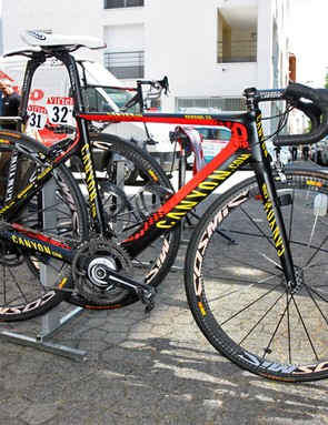 Philippe Gilbert (Omega Pharma-Lotto) will be looking for stage glory at this year's Tour de France aboard his new custom Canyon Aeroad CF
