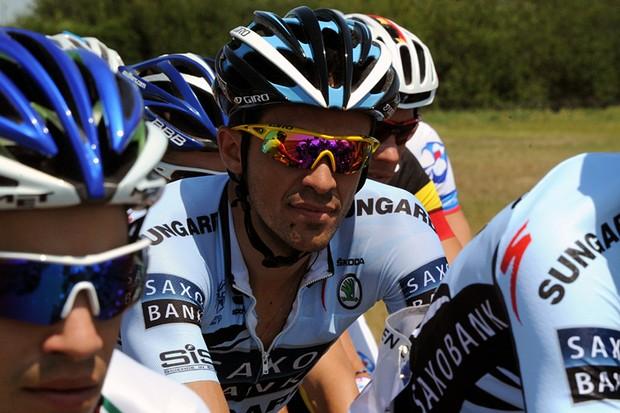 Alberto Contador lost 1'20 in stage 1