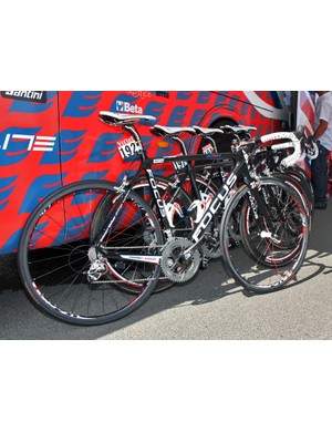 Four Katusha riders in this year's Tour de France have specially customized versions of Focus's Izalco Team frame - and we're not just talking paint