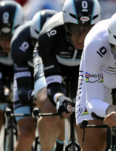 Fabian Cancellara leads Leopard Trek