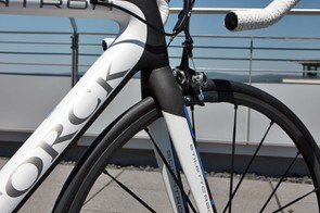 The new Storck Scentron will come with the company's own Stiletto Race SL carbon fork
