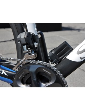 Complete Storck Scentron bikes will be available with Shimano Ultegra electronic drivetrains