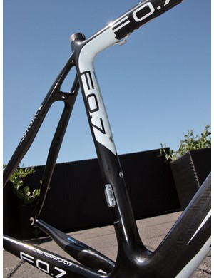 In contrast to some more wildly shaped machines, Storck frames have a more flowing and organic form - something several other carbon frame companies are now coming back to for current models