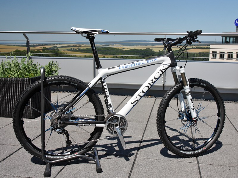 Storck have revamped nearly their entire mountain bike line for 2012, which includes an all-new Rebel Six carbon hardtail