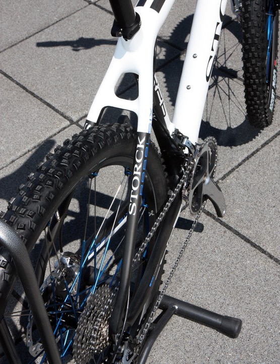 As is usually the case with Storck, shaping on the Rebel Six is straightforward and fairly conventional