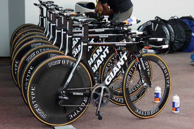 Giant ran into some issues with the UCI prior to last year's Tour de France but now that things have stabilized, Rabobank can concentrate on the business of going fast