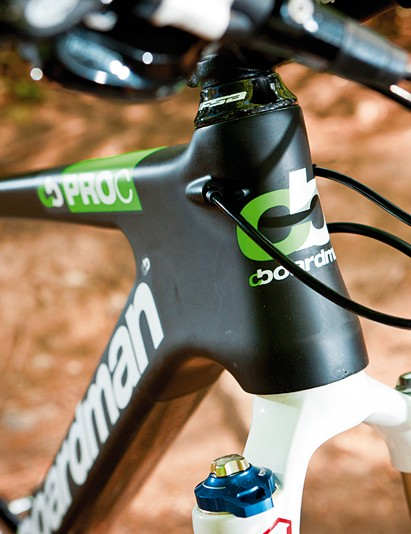 Internal cable routing is a bonus and gives the Pro a really clean look