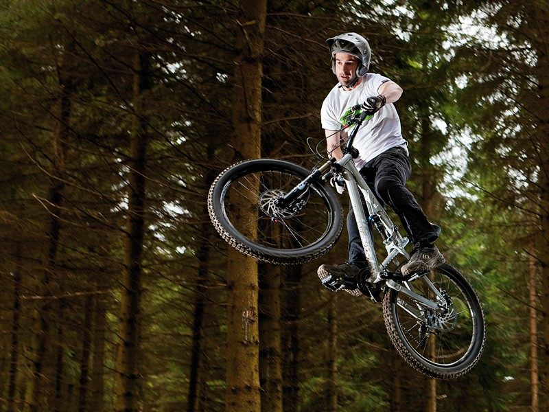 The Double is a hard-hitting, good all-round play bike