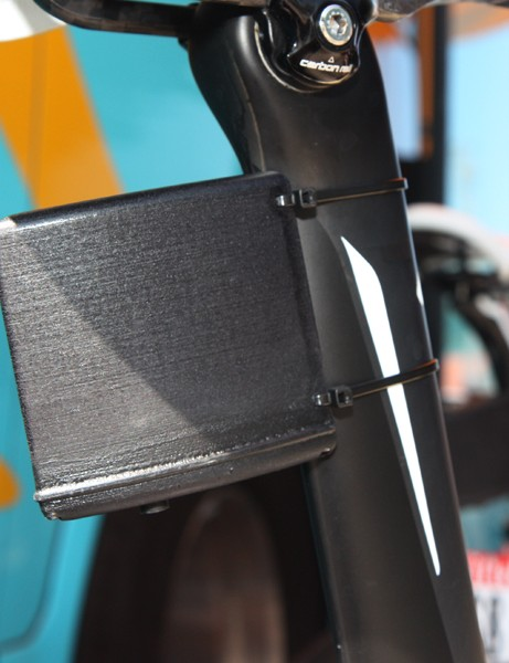 SRM have equipped several riders in this year's Tour de France with real-time data transponders so that fans can see performance metrics in real time