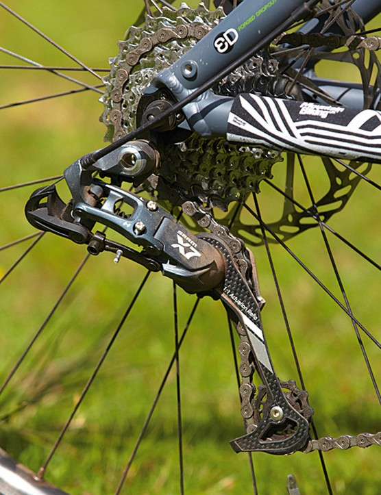 SRAM's X7 mechs and shifters provide value and performance