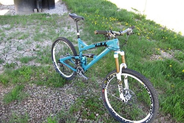 Yeti's new super bike, the SB-66