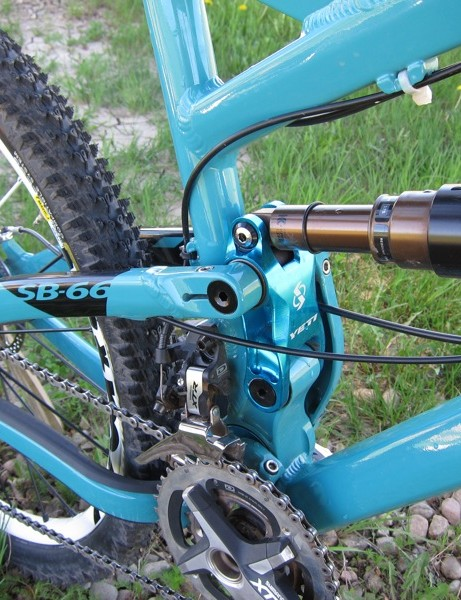 The suspension system is the heart of the bike and is slung relatively low for better handling