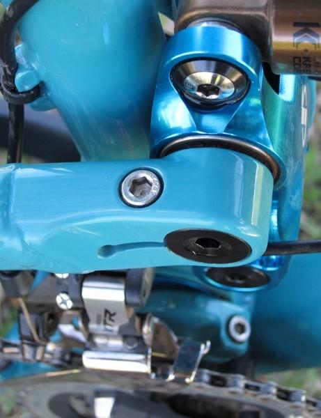 Enduro's Enduro Max bearings grace the pivots