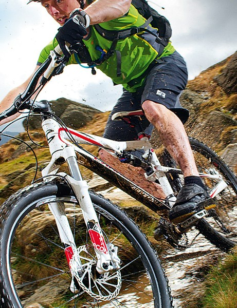 The Cannondale is a willing accomplice that will flatter any rider's skills