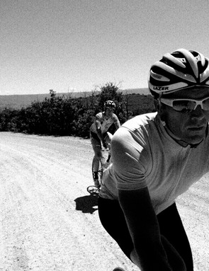 Rapha's Lewis, requested to only be photographed in black and white or sepia tones
