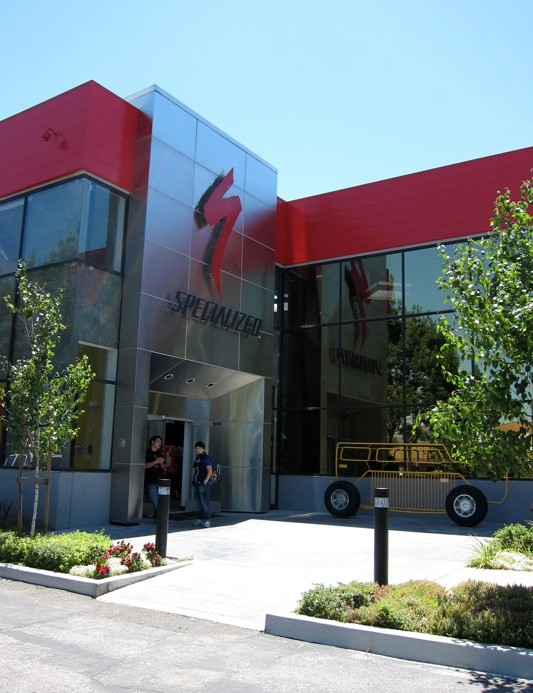 Specialized's home base in Morgan Hill, California
