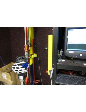 The instrumented, computer controlled drop test