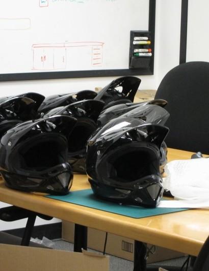 New Dissident helmets await testing