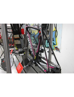 The new SL4 on the dual pedal fatigue rig