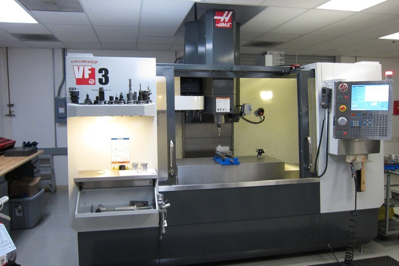 The Haas VF3, Specialized's new $90,000 CNC mill