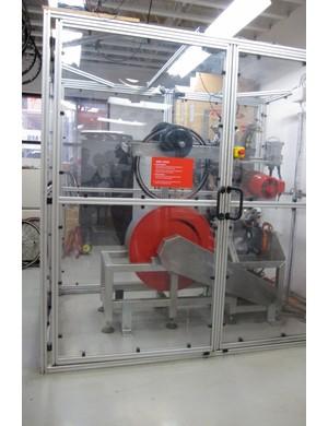 Specialized's wheel fatigue test machine