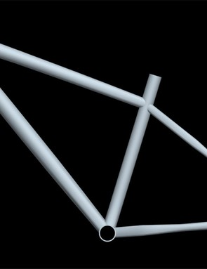 This CAD drawing shows Commencal's new Supernormal hardtail