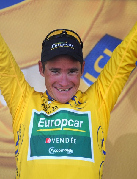 Thomas Voeckler took the yellow jersey in stage 9