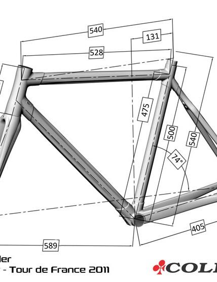 Voeckler's custom measurements