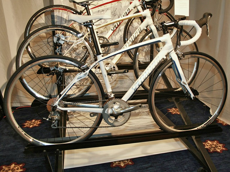 """The Specialized Dolce Comp and Elite have Zertz dampeners in the fork and seatstays, as well as """"In-Zertz"""" within the frame tubing"""