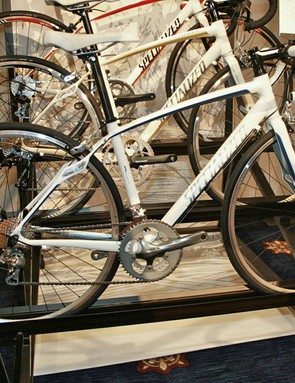 The Specialized Dolce Comp and Elite have Zertz dampeners in the fork and seatstays, as well as