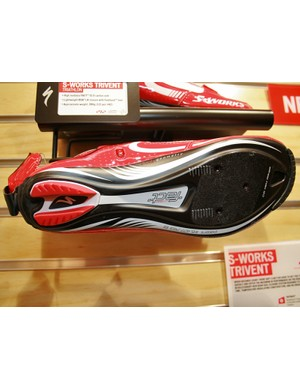 The FACT 12 carbon sole of the Trivent